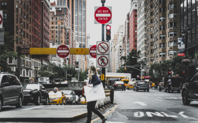 How Cities in North America Communicate Efficiently about Accessible Pedestrian Signals: Good Examples to Follow