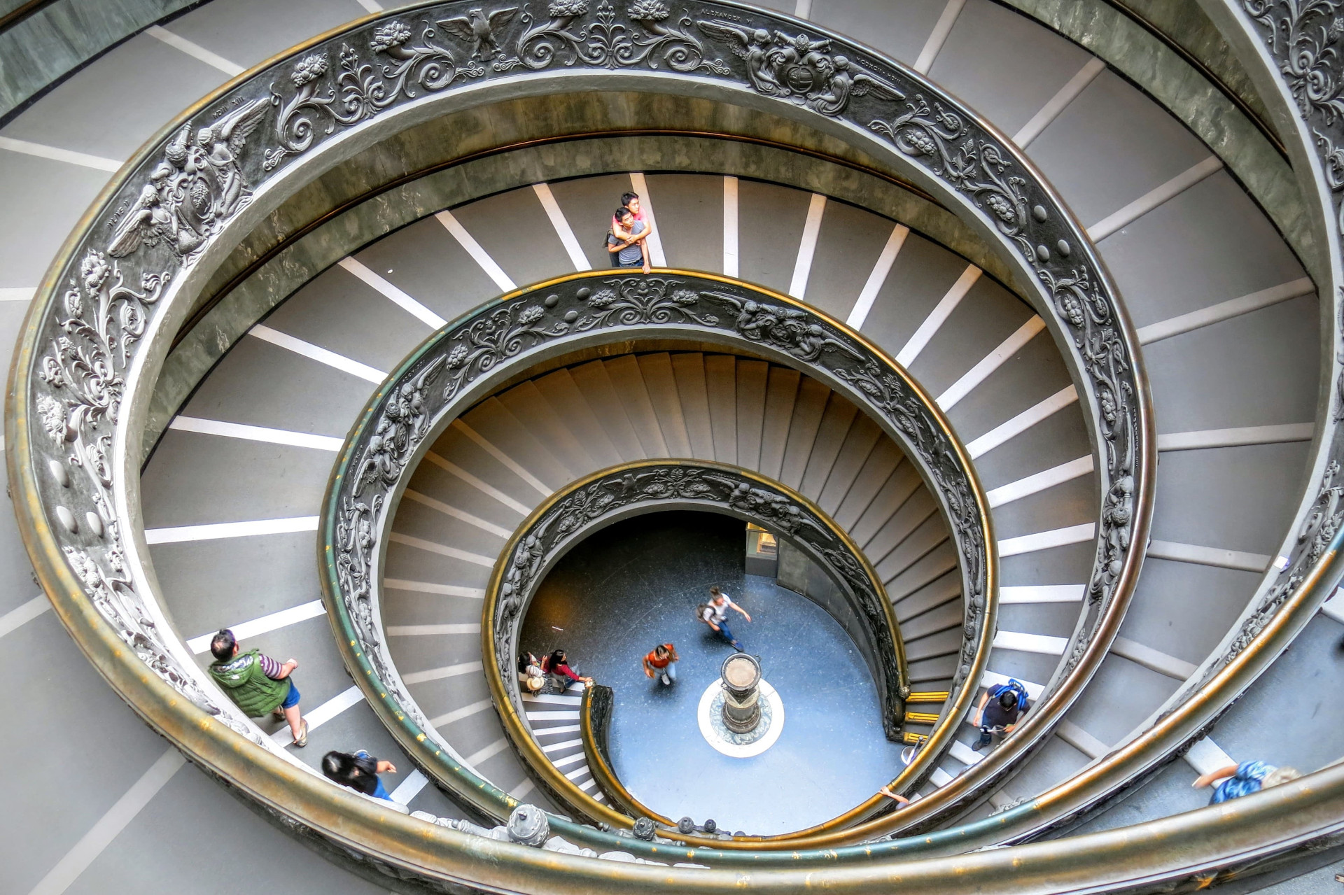 View on a rotunda, a great example of accessibility for all